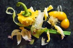 Vegetable остатки Стоковая Фотография