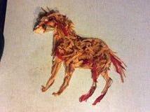 Vegetable лошадь - Vegetable потеха Стоковое Изображение