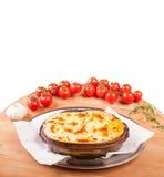Vegetable пирог Стоковые Фотографии RF