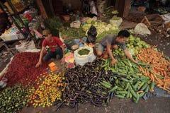 Vegetable продавец Стоковые Фото