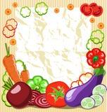 Vegetable рамка Стоковое Изображение