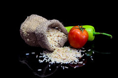 Vegetable рис Стоковая Фотография RF