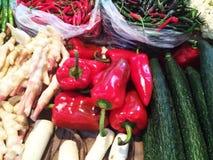 Vegetable рынок Стоковое Изображение