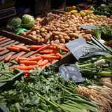 Vegetable рынок Стоковая Фотография RF