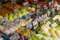 Vegetable рынок Стоковые Изображения