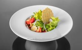 Vegetable салат с обломоками мозоли Стоковое Фото