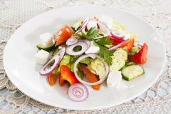 Vegetable салат с brynza Стоковое Изображение