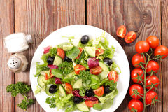 Vegetable салат шара Стоковые Изображения RF