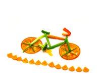 Vegetable след велосипеда Стоковые Фото