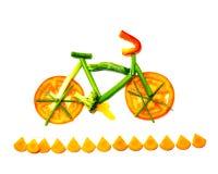 Vegetable след велосипеда Стоковое фото RF