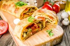 Vegetable смачная штрудель стоковое фото