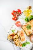 Vegetable смачная штрудель стоковое фото rf