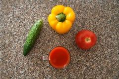 Vegetable смешивание IV Стоковая Фотография