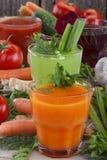 Vegetable соки Стоковая Фотография RF