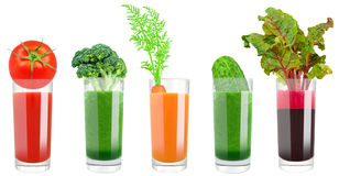 Vegetable сок Стоковые Изображения RF