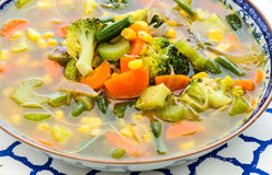 Vegetable суп минестроне Стоковое Изображение RF