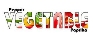 Vegetable слово Стоковая Фотография RF