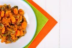 Vegetable тушёное мясо с грибами Стоковое Изображение RF