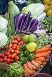 Vegetable. Full of vegetable in the market in myanmar Stock Images