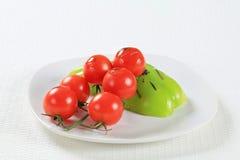 Vegetable accompaniment Stock Photography