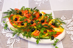 Vegetable allsorts Stock Photo
