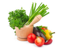 Free Vegetable And Mortar Stock Images - 28544224