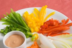 Vegetable appetizer Royalty Free Stock Images