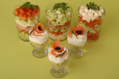 Vegetable appetizer Stock Photography