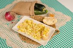 Vegetable appetizer, Spanish cuisine Royalty Free Stock Photos