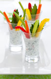 vegetable appetizers Royalty Free Stock Images