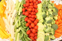 Vegetable appetizers Stock Photography