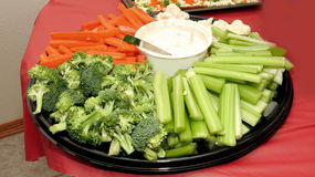 Vegetable Appetizers Stock Photos