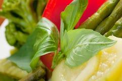 Vegetable arrangement Royalty Free Stock Photos