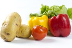 Vegetable arrangement Stock Photo