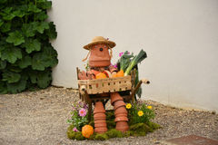 Vegetable art Stock Images