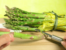Vegetable - asparagus royalty free stock images