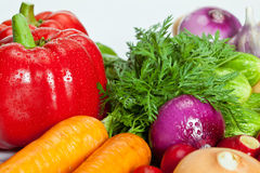 Vegetable assortment Royalty Free Stock Image