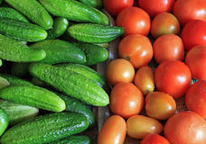 Vegetable background Stock Photo