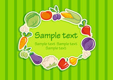 Vegetable background Stock Photo