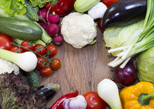 Vegetable background Stock Photography