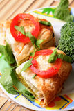 Vegetable Baked Rolls Stock Images