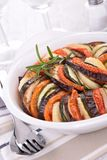 Vegetable baked tian Stock Photo