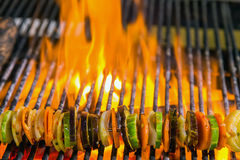 Vegetable Barbecue Grill Royalty Free Stock Image