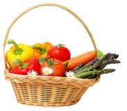 Vegetable in Basket Stock Image