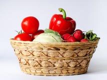 Vegetable basket Royalty Free Stock Image