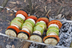Vegetable BBQ Stock Photo