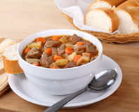 Vegetable Beef Soup Stock Photos