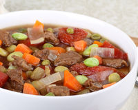 Vegetable Beef Soup Royalty Free Stock Images