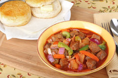 Vegetable Beef Stew Stock Photography