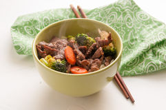 Vegetable beef stir fry Royalty Free Stock Photos